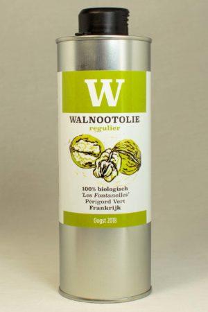 Walnootolie 500ml. Augustin's Amsterdam Augustins Walnootolie intens regulier mild licht biologisch